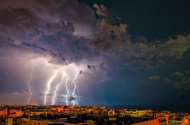 Storm, Thunder, Lightning, Dark, Sky, Thunderstorm