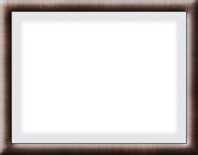 Photo Frame, Wooden Frame, Family, Dark Wood