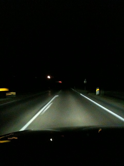 Night Drive, Highway, Darkness