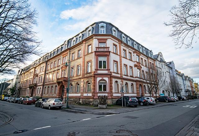 Darmstadt, Hesse, Germany, John Quarter, Old Building