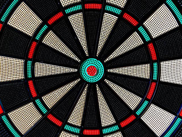 Target, Dart, Bull's Eye, Delivering, Middle