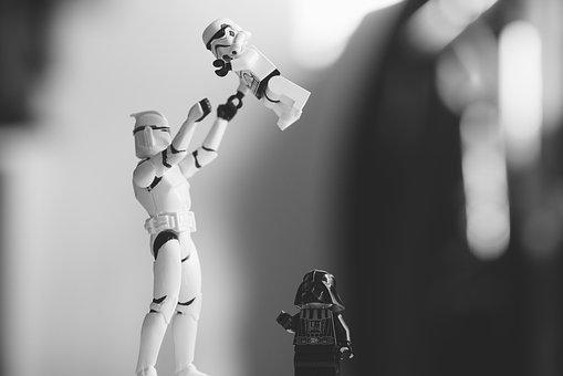 Characters, Close-up, Darth Vader, Figures, Lego