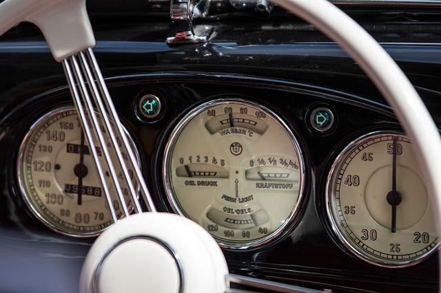 Instrument, Gauge, Auto, Dashboard, Bmw, Oldtimer