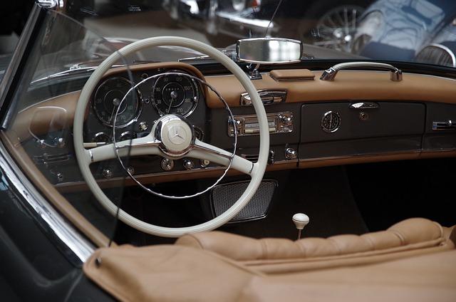 Auto, Mercedes, Speedometer, Dashboard