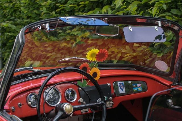 Auto, Skoda, Cabriolet, Dashboard, Vehicle, Speedometer