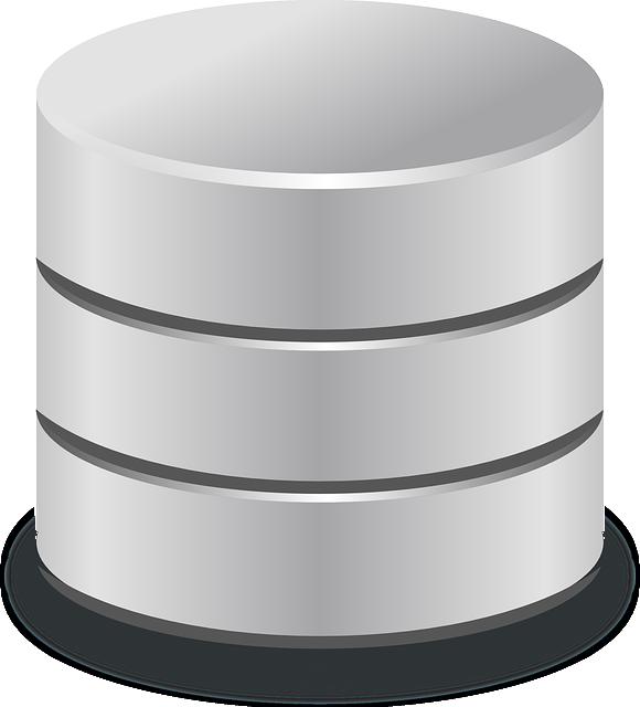 Database, Storage, Data Storage, Cylinder, Metal, Stack