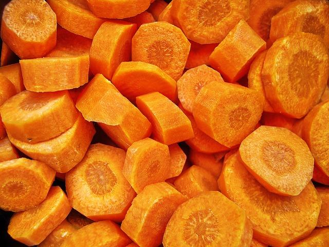 Carrot, Cut, Daucus Carota, Soup Greens, Turnip