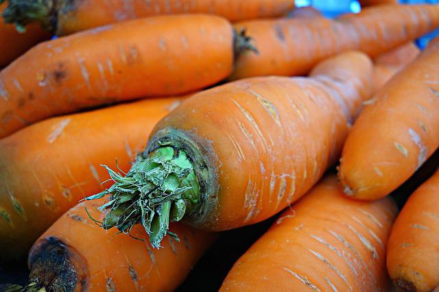 Carrot, Vegetable, Daucus Carota, Root Vegetable, Fresh