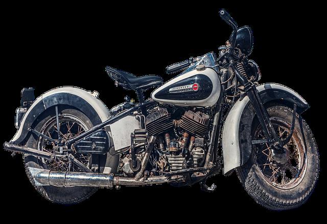 Motorcycle, Old, Harley Davidson, Harley, Davidson