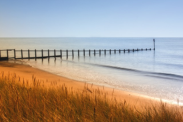Dawlish Warren, Dawlish, Devon, Sand, Dunes, Sea, Shore