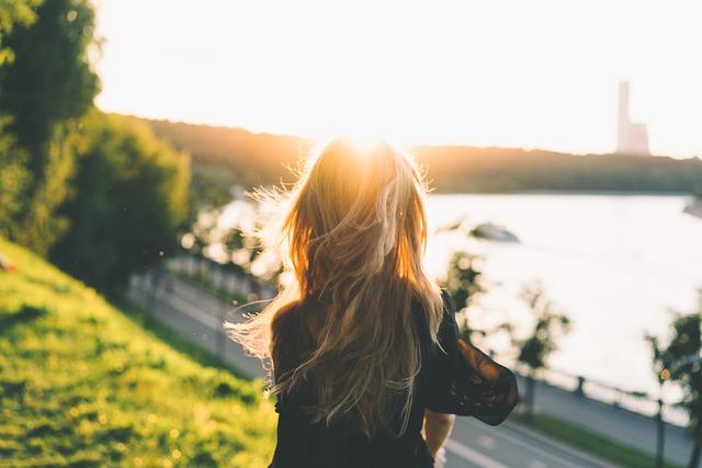 Blonde, Blur, Coastal Road, Dawn, Daylight, Girl, Grass