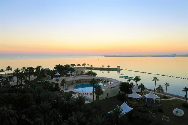 Morning, Dawn, Sunrise, Qatar, Doha, Landscape, Solar