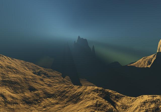Mountain, Landscape, Nature, Sky, Dawn, Peak, Most
