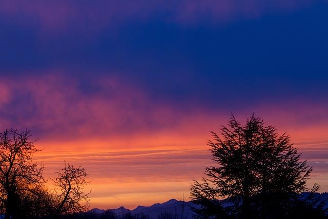 Dawn, Nature, Sunrise, Sky, Clouds, Mood, Landscape