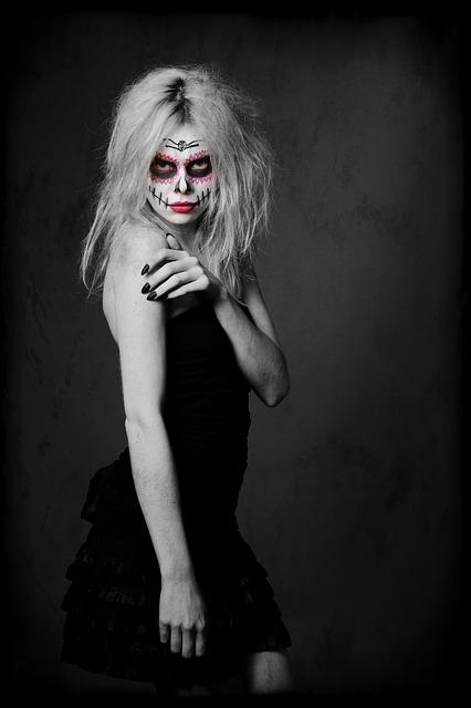Halloween, Make-up, Day Of The Dead