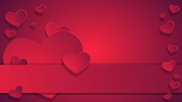 Wallpaper heart design