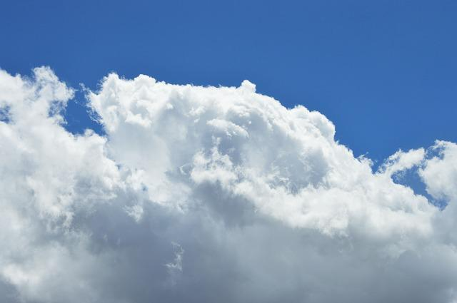 Sky, Cloud, Blue, Background, White, Paradise, Day