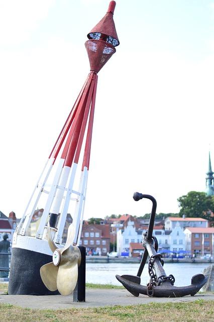 Schlei, Baltic Sea, Anchor, Daymark, Water, Marina