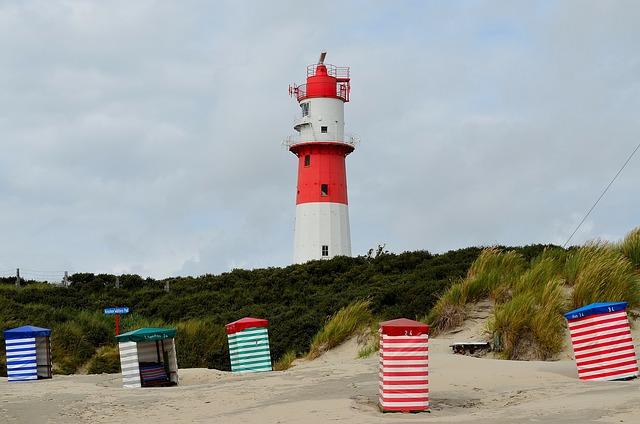 Lighthouse, Daymark, Borkum, Shipping, Beacon