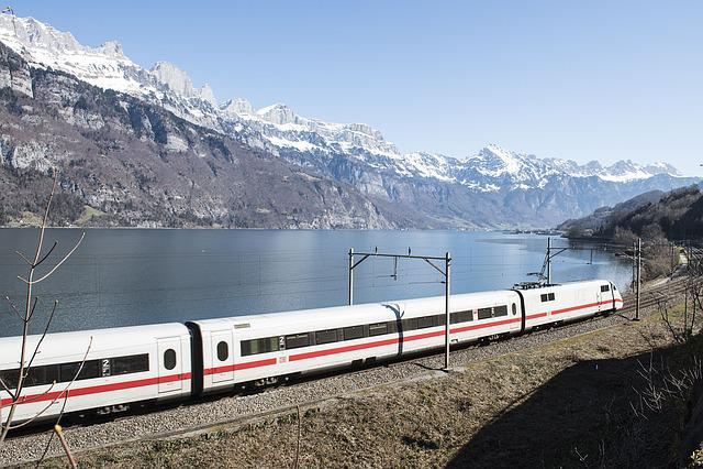 Mountains, March, Train, Db, Sbb, Ice, Mountain Range