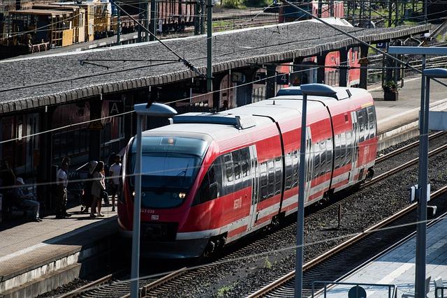 Db, Deutsche Bahn, Train, Regional Train