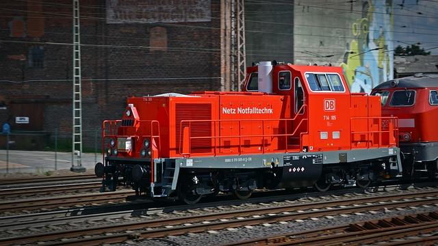 Db, Loco, Freight Transport, Train, Railway