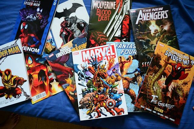 Comics, Novels, Superhero, Marvel, Dc