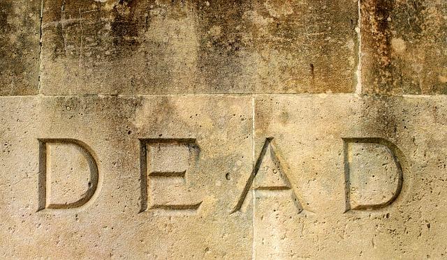 Dead, Death, Final, End, Ending, Inscription, Word