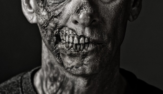 Zombie, Death, Dead, Day Of The Dead, Mexico, Man