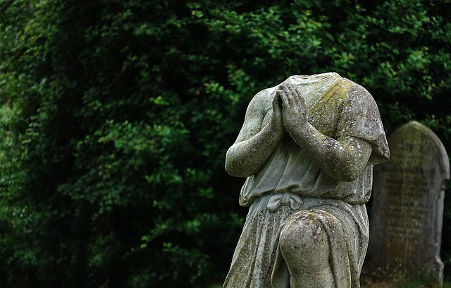 Statue, Effigy, Headless, Memorial, Blind, Deaf, Lost