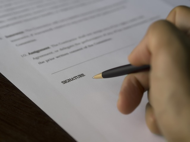Business, Signature, Contract, Document, Deal