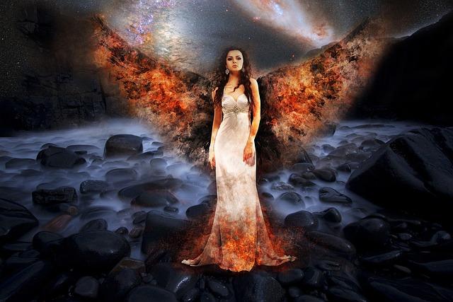 World End, Angel, Death, Fire, Apocalypse, Armageddon