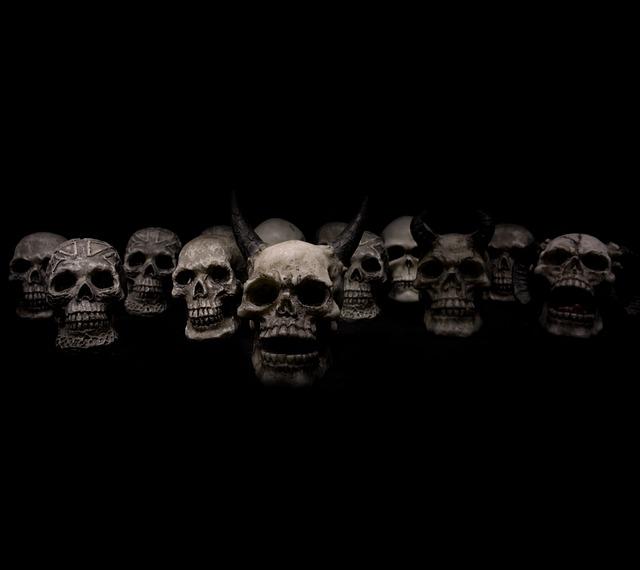 Skulls, Horror, Death