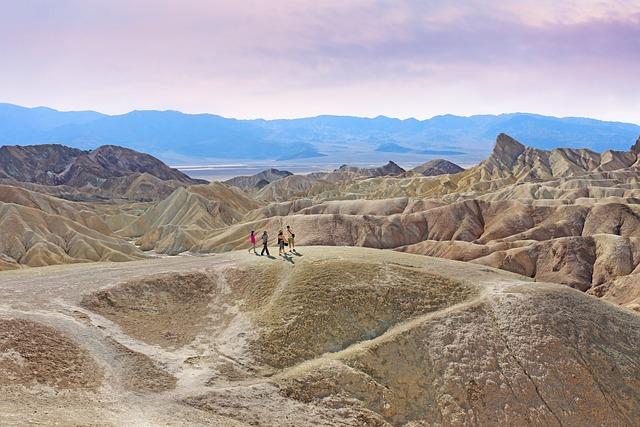 Death Valley, Zabriskie Point, Desert, California