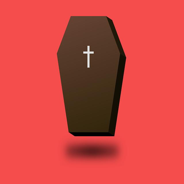 Coffin, Dead, Death, Wood, End, Church