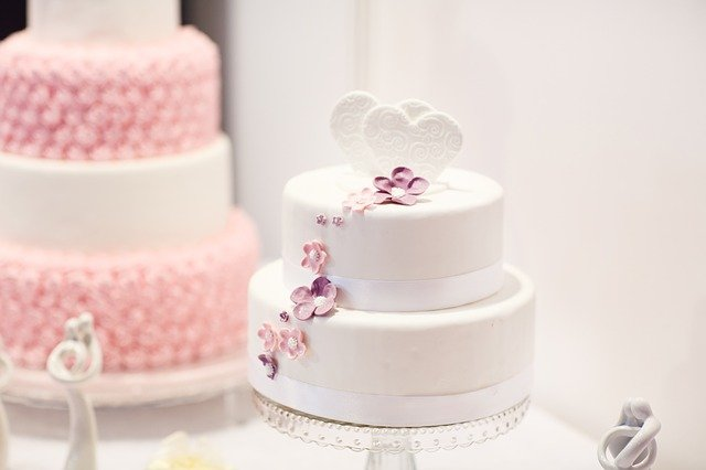 Wedding Cake, Debut, Cake, White Cake, Pink Cake