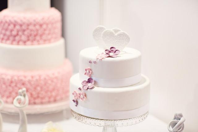 Wedding Cake, Debut, Cake, White Cake, Pink Cake