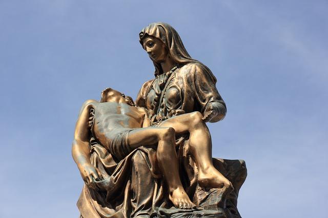 Italy, Sardinia, Bosa, Cemetery, Statue, Dead, Deceased