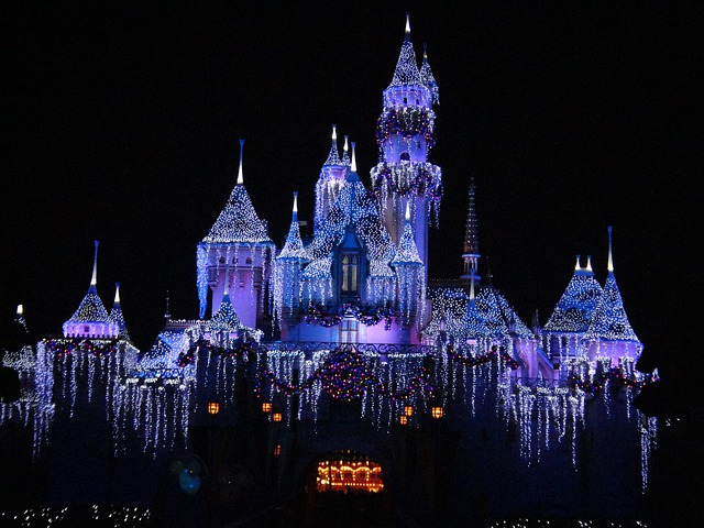 Disneyland, December, California