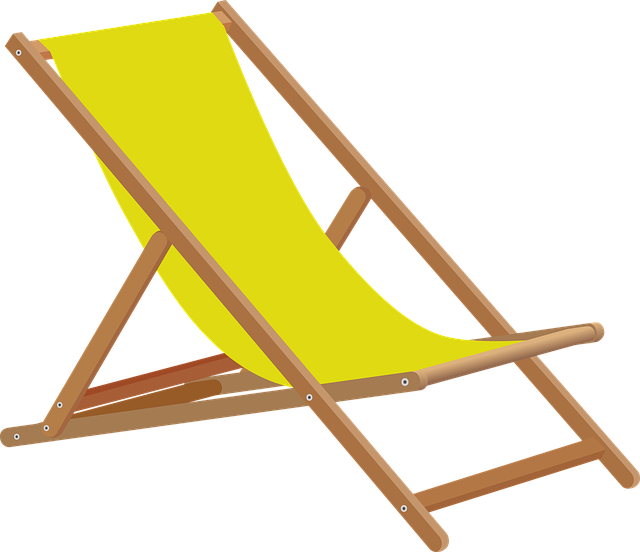 Beach, Beach Chair, Canvas Chair, Deck Chair, Lying