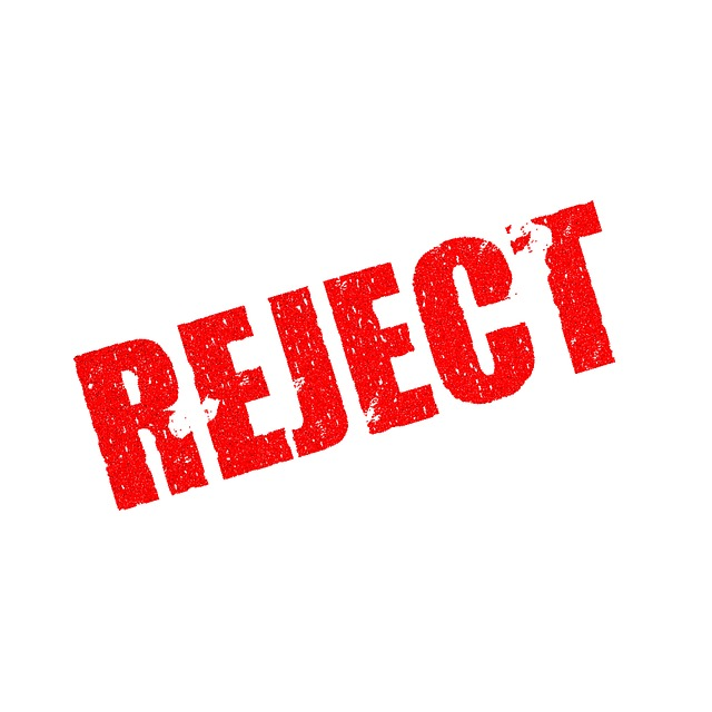 Stamp, Rejected, Document, Reject, Rejection, Decline