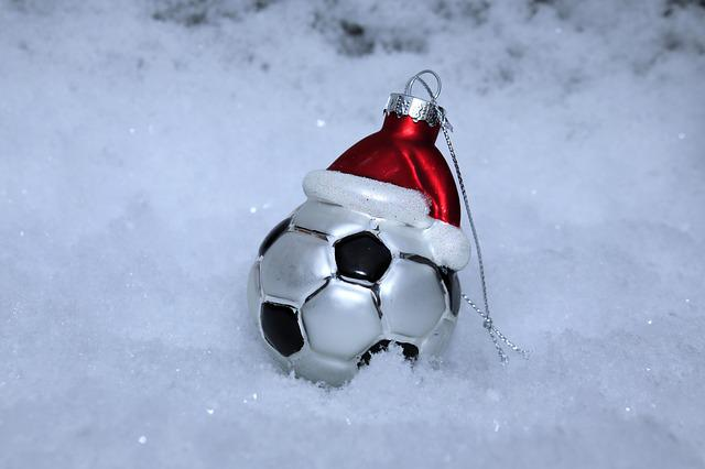 Football, Snow, Christmas, Christmas Ornaments, Deco