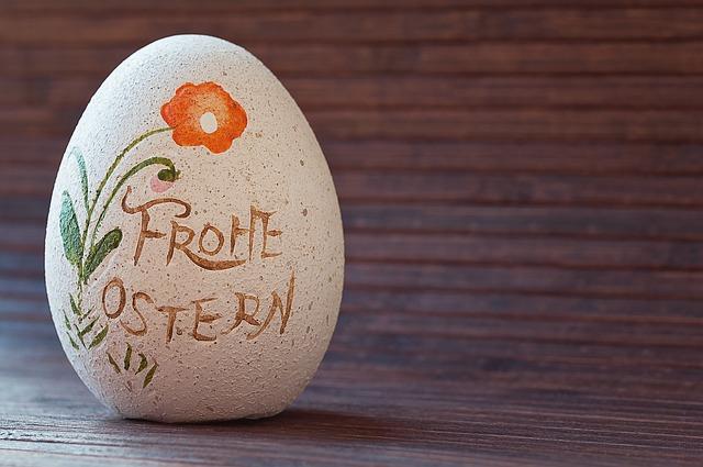 Stone-ei, Deco-ei, Easter Egg, Happy Easter, Deco