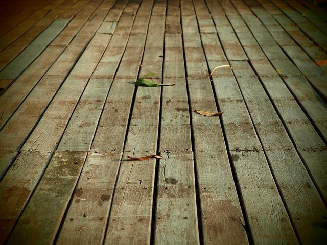 Wooden Flooring, Ground, Passage, Retro, Decorate