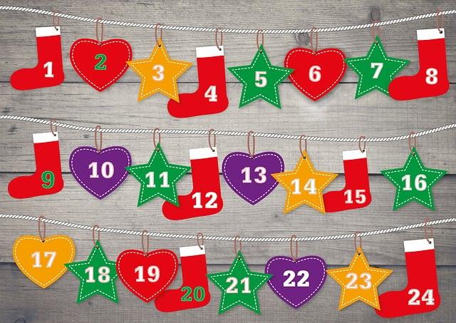 Advent Calendar, Advent, Christmas Time, Decoration