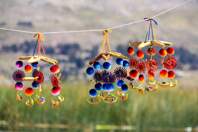 Mobile, Windspiel, Decoration, Art, Colorful, Peru