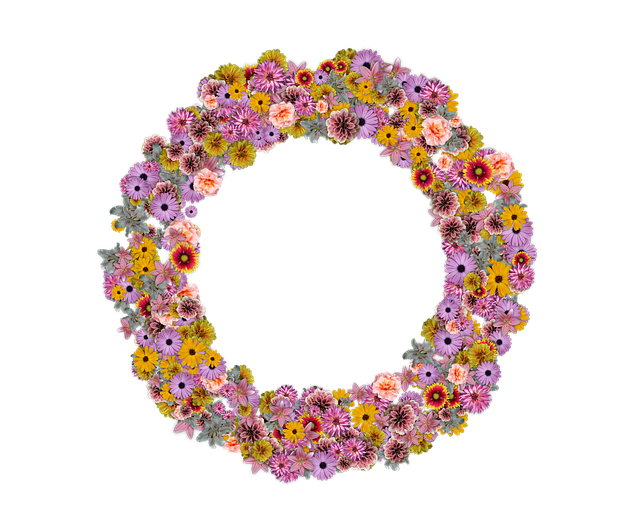 Wreath, Floral, Decoration, Decorative, Bouquet