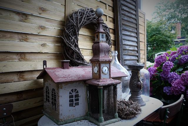 Candle Holder, Bird House, Decoration