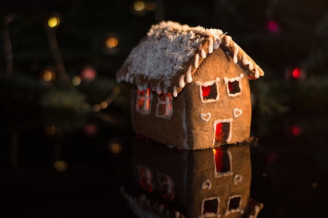 Gingerbread House, Gingerbread, Christmas, Decoration