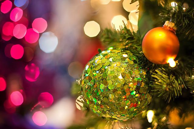 Christmas Bulb, Ornament, Lights, Decoration, Christmas